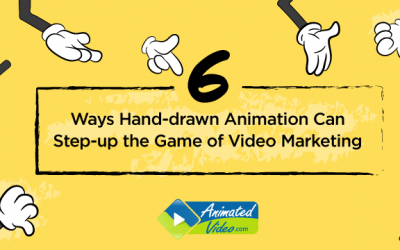 6 Ways Hand-drawn Animation Can Step-up the Game of Video Marketing
