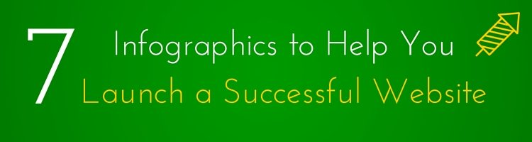 7 Infographics to Help Launch a Successful Website