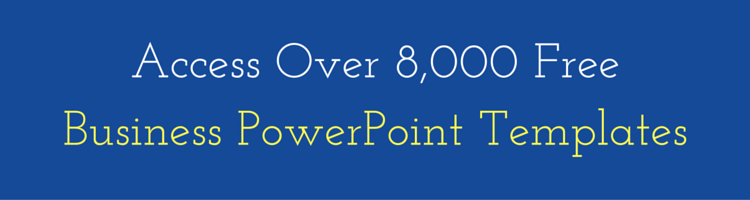 Access Over 8,000 Free Business PowerPoint Templates