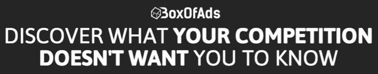 BoxofAds Review – PPV & Display Advertising Spy Tool