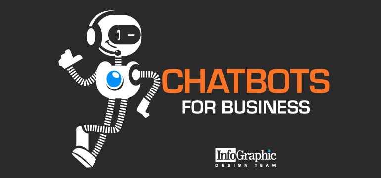 Chatbots For Business – Infographic