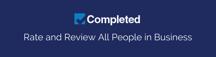 Completed – Rate and Review All People in Business