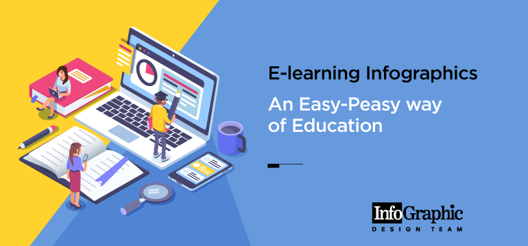 E-learning Infographics – An Easy-Peasy way of Education