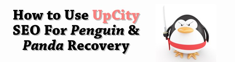 How to Use UpCity SEO For Penguin & Panda Recovery