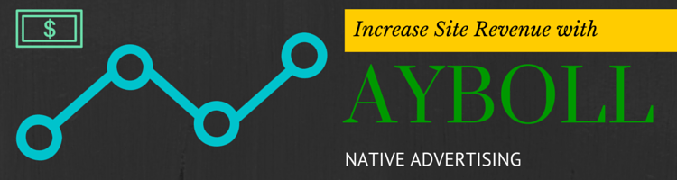 Increase Site Revenue with Ayboll Native Advertising