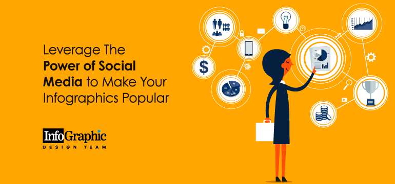 Leverage The Power of Social Media to Make Your Infographics Popular