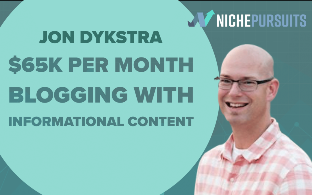 How to Make a $65k Per Month Living Blogging About Informational Content